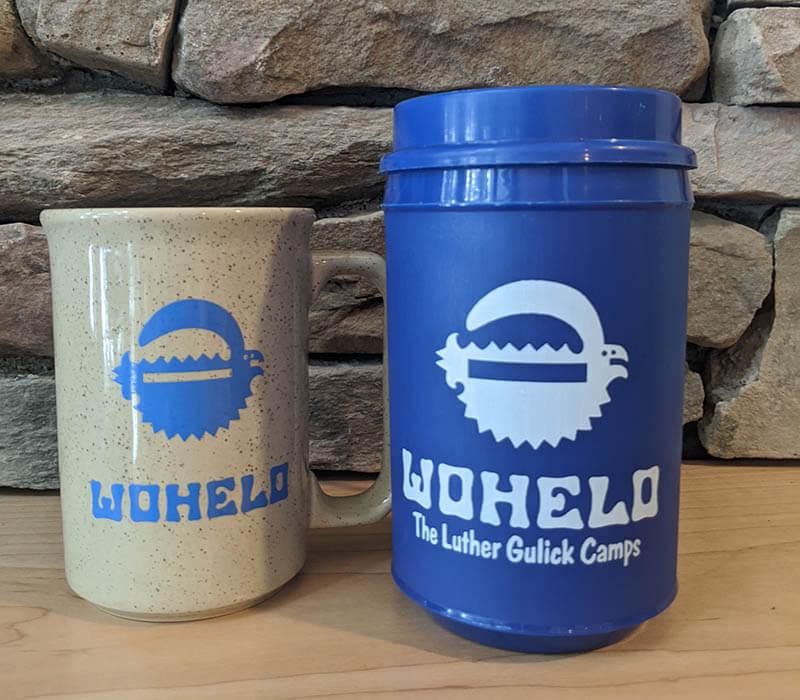 Wohelo camp mugs