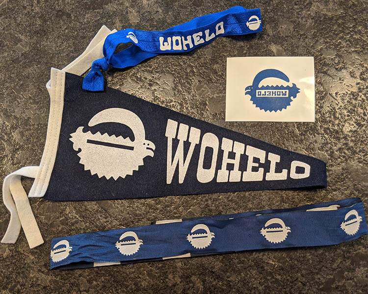 Wohelo pennant and decal