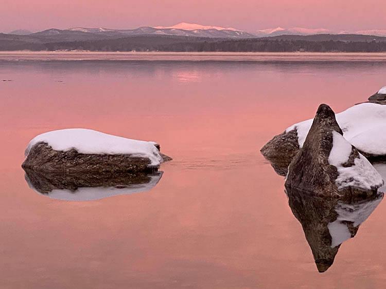 Morning light on Mount Washington