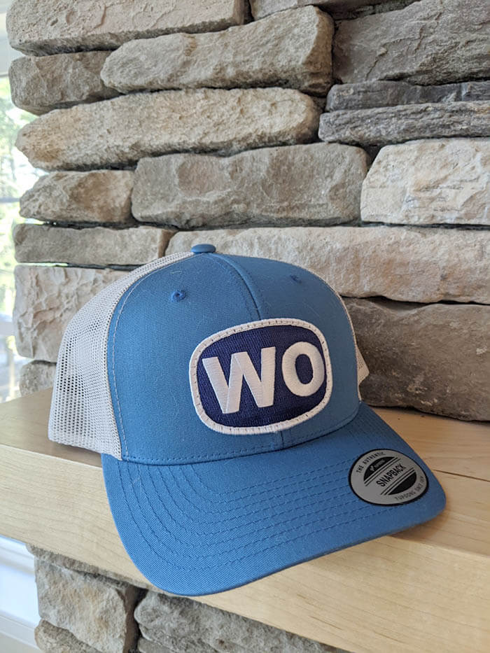 Wohelo snapback baseball hat