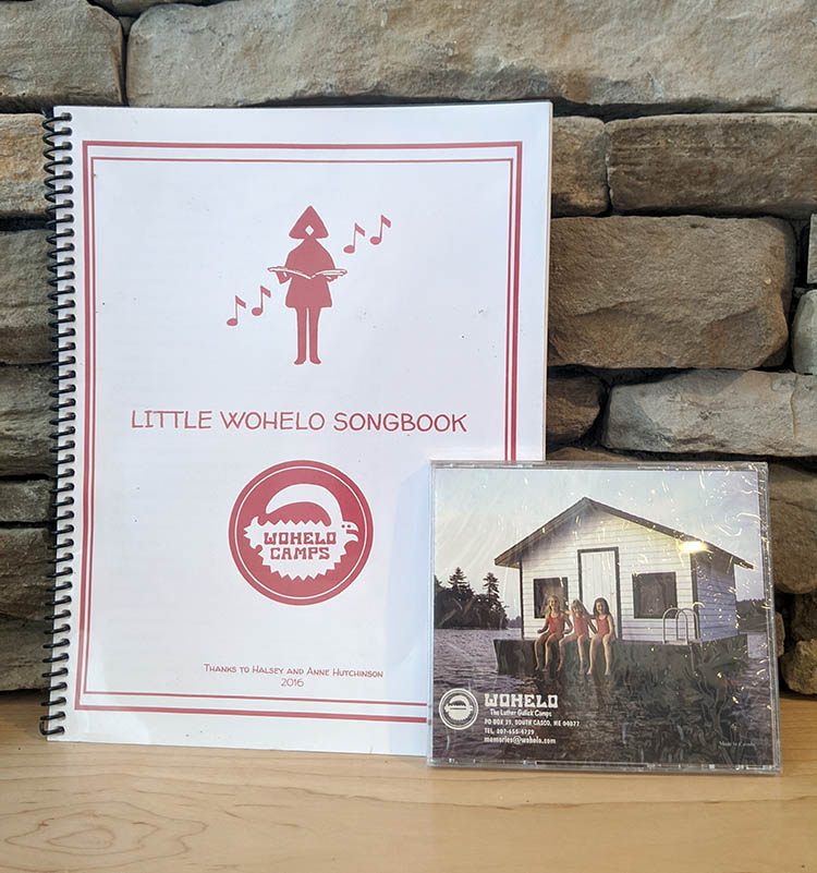 Wohelo songbook and CD