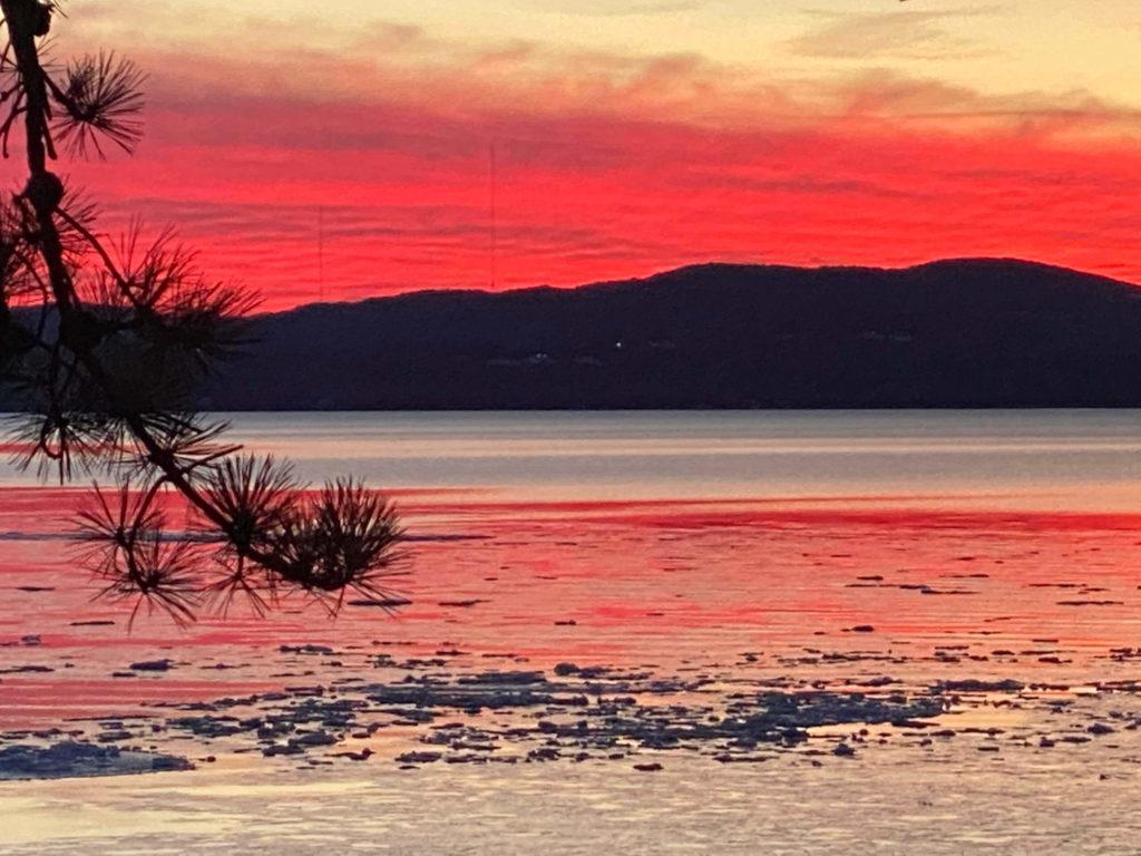 Sunset February 25, 2021