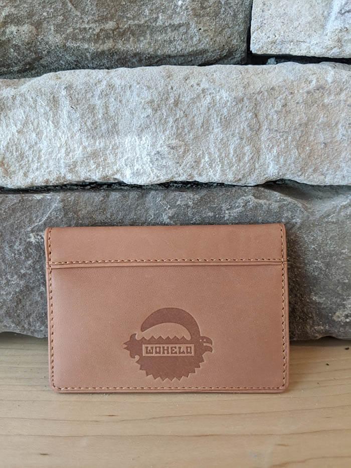 Wohelo slim Leather wallet