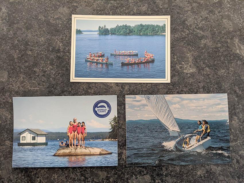 Wohelo postcards